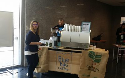 Blue Bag Coffee @ Ecommerce Academy Ruse